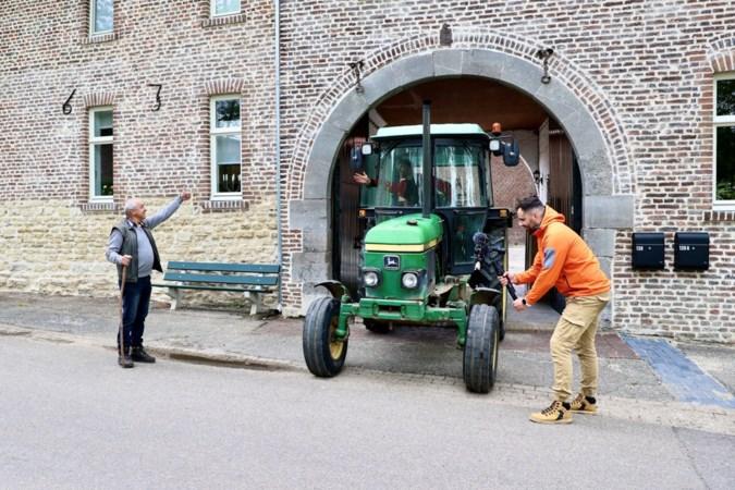 Prominente Limburgers voor de camera voor verkeerscampagne boerenbond