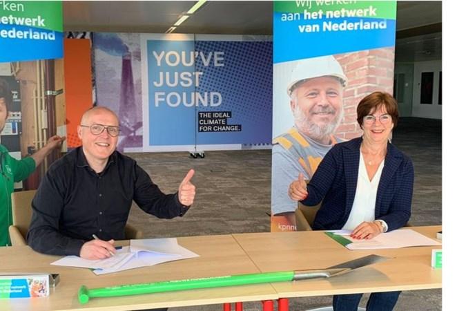 Tienduizenden huishoudens in Heerlen krijgen internet via glasvezel