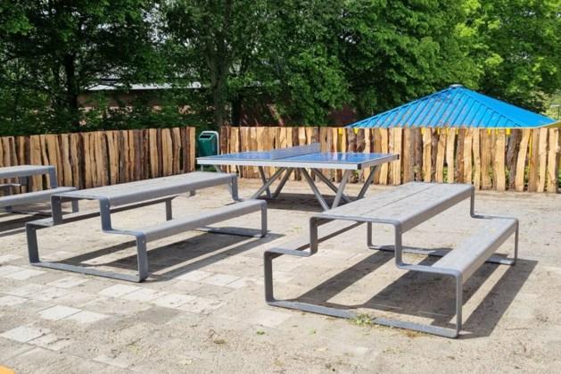 Nieuwe pauzeplaats voor leerlingen Sophianum