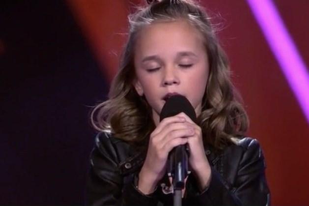 Emma Kok overtuigend naar de finale van de Voice Kids