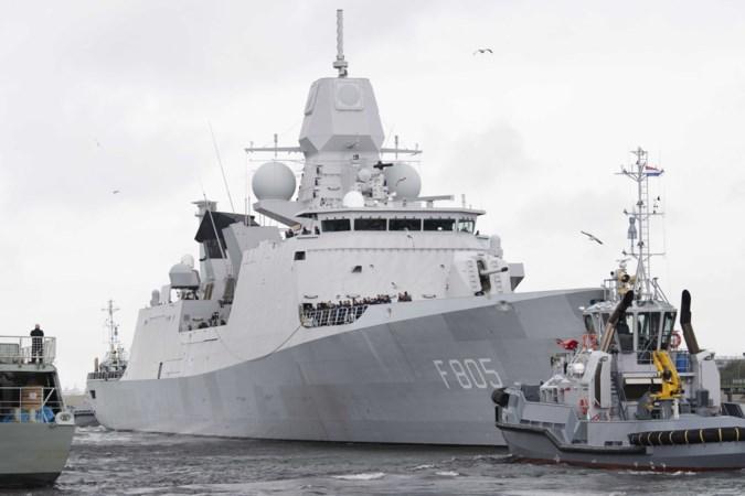 Den Haag had het deze week volop over fregat Zijner Majesteits Evertsen