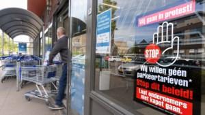 Ondernemers Roermond zijn bang dat ze 'kapot gaan' als hun klanten straks parkeergeld moeten betalen