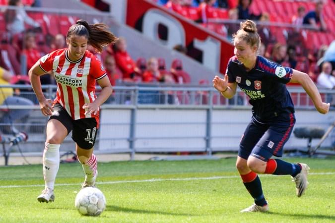 Twee goals afzwaaiende Lewerissa niet genoeg voor Ajax: PSV-vrouwen naar voorronde Champions League