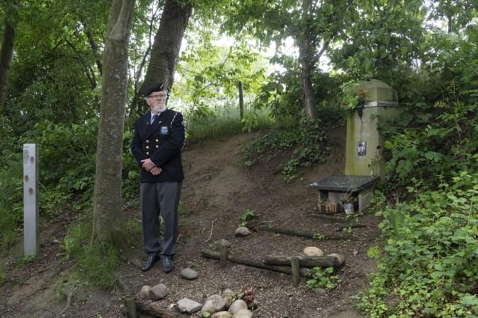 Vergeten oorlogsmonumentje op de Kollenberg krijgt een opknapbeurt