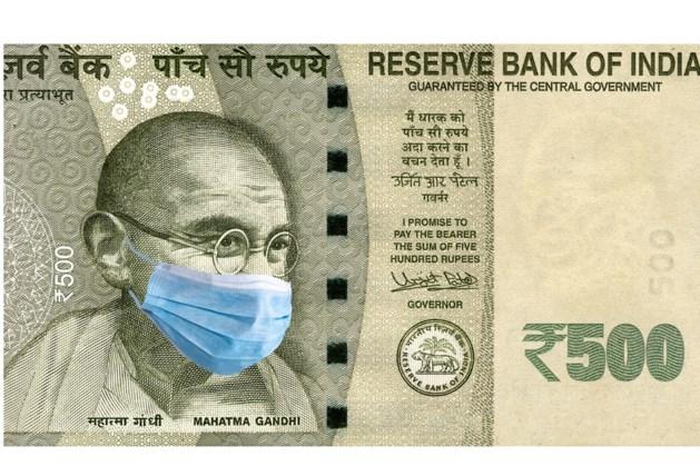 Recordkrimp economie India door coronacrisis