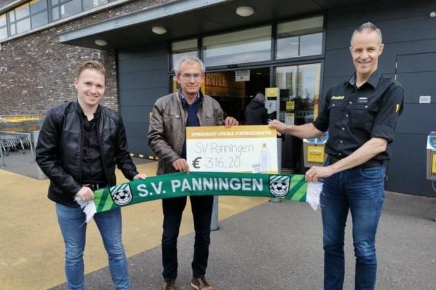 Ook plaatselijke Jumbo helpt voetbalclub Panningen uit de brand