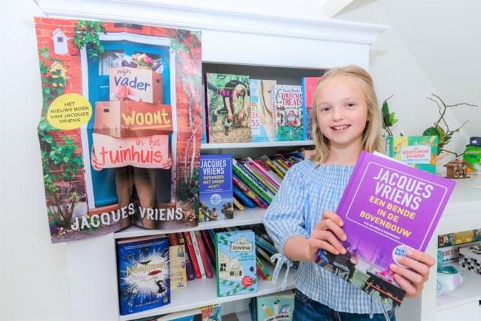 Boekenbaas Dieuwertje (10) uit Melick heeft belangrijke taak: het enthousiasme om te lezen onder kinderen aanwakkeren