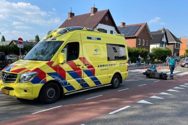 Pizzabezorger naar ziekenhuis na aanrijding in Weert