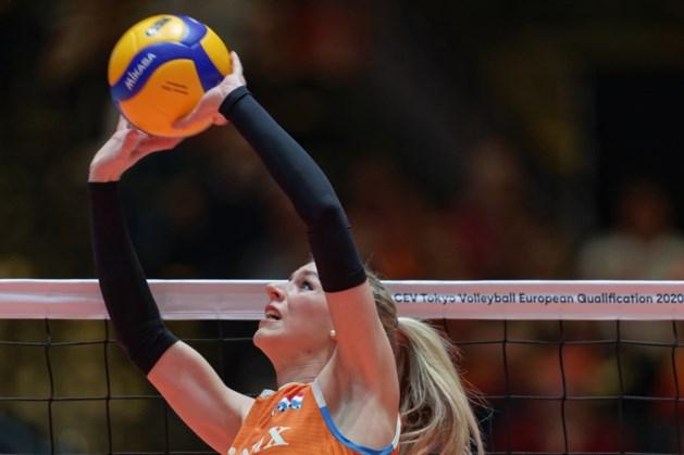 Volleybalsters te sterk voor Thailand in Nations League