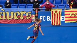 Lieke Martens wint ook beker: treble met Barcelona binnen
