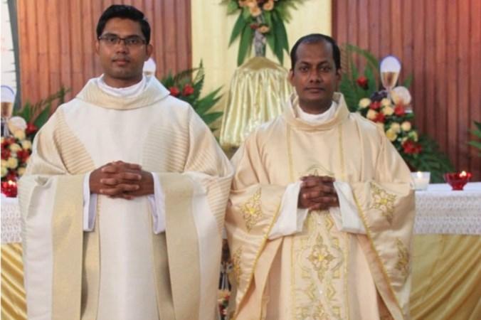 Kapelaans Sittard en Geleen in Sri Lanka tot priester gewijd