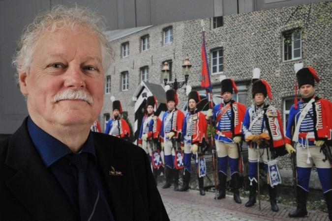 Baron Von Glasenapp fascineert huzarenleider Frank Poeth uit Tegelen al van kindsaf: 'Hij was een held op het slagveld'