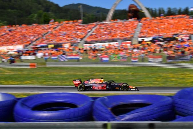 Volle bak bij Formule 1-race in Oostenrijk: kleuren tribunes weer oranje?