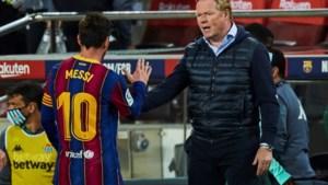 'FC Barcelona gaat toch door met trainer Koeman'