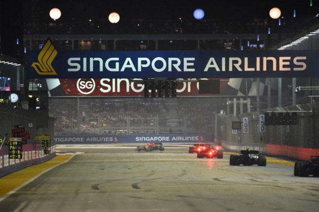 'GP Singapore in Formule 1 gaat niet door vanwege coronavirus'