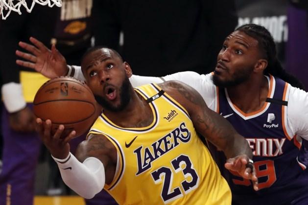 Titelverdediger LA Lakers uitgeschakeld in play-offs NBA