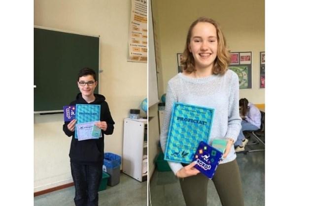 Twee leerlingen Bernardinuscollege behoren tot beste van Nederland met wiskundewedstrijd