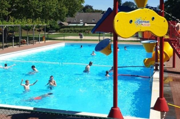 Zwemmen in buitenbad Kessel weer mogelijk