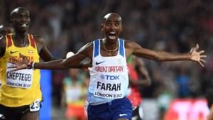 Hardloopgrootheid Mo Farah maakt na 4 jaar rentree op atletiekbaan