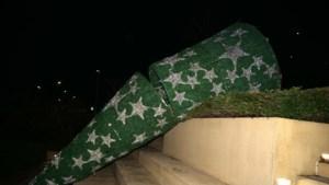 Ouders van jongeren die kerstboom vernielden in Brunssum draaien mogelijk op voor kosten
