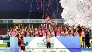 Vrouwen PSV te sterk voor ADO in bekerfinale