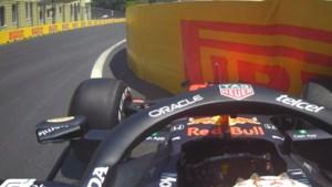 Max Verstappen crasht in laatste vrije training