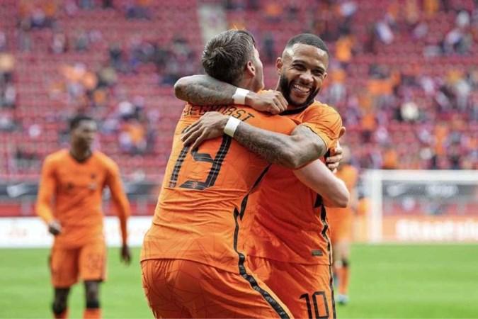 Nederlands elftal met ruime zege naar EK