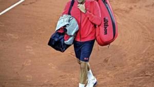 Roger Federer trekt zich terug op Roland Garros