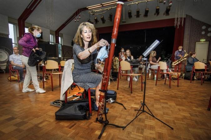 Harmonie Horn repeteert weer: 'Mijn saxofoon is zeker niet roestig'