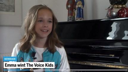 Video: The Voice Kids-winnares Emma Kok verrast in Kerkrade