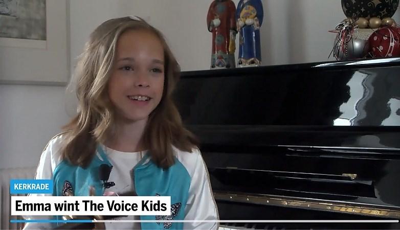Coach Ali B trots op Voice Kids-winnares Emma (13) uit Kerkrade: 'Ze maakt van haar shit een hit'