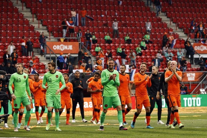 Het rapport van Oranje na Nederland - Georgië: 6,8