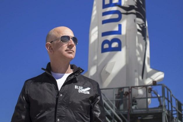 Jeff Bezos eerder de ruimte in dan Elon Musk en Richard Branson