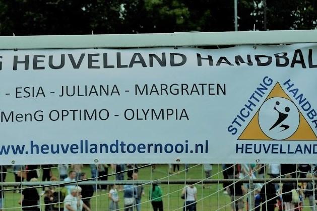 21ste Heuvelland Handbal Toernooi op zondag 12 september