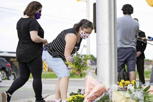 Automobilist Canada reed opzettelijk vier moslims dood