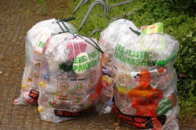 PMD-zakken huis-aan-huis bezorgd