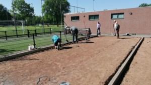 Buiten beugelen op De Solberg in Beesel: 'Predicaat Open Club is het bewijs dat we op het sportpark voor iedereen iets te bieden hebben'