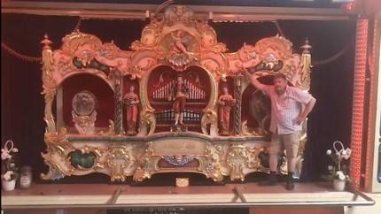 Roermondse kermisexploitant Minus wil een museum voor zijn orgels: 'De mooiste muziek die er is'