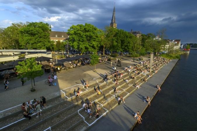 Restaurant Noon maakt met originele oplossing korte metten met samenscholing bij De Griend in Maastricht