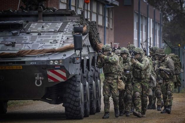 Koninklijke Landmacht oefent rond Vaals