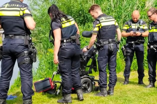 Hulpdiensten rukken uit voor te water geraakte persoon in rolstoel