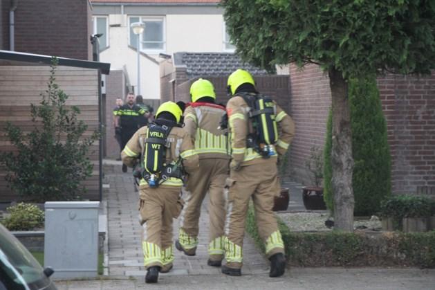 Flinke rookontwikkeling bij brand in garage Weert