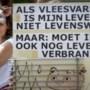 Wake voor omgekomen varkens en blokkades van boeren in Nederweert verlopen rustig