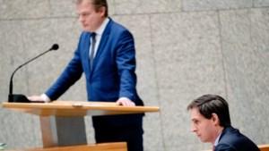 CDA-leider Hoekstra en partijvoorzitter Van Rij teleurgesteld over vertrek Omtzigt