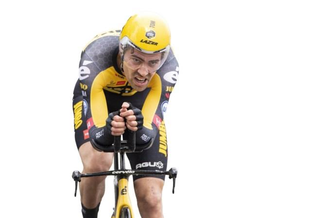 Tevredenheid na race tegen de klok: Dumoulin moet alleen sterker worden