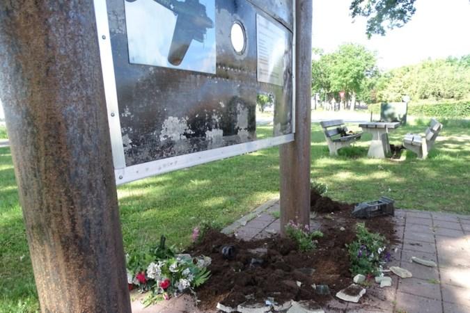 Oorlogsmonument Castenray vernield: 'Dit is respectloos naar de mensen die hun leven voor ons hebben gegeven'