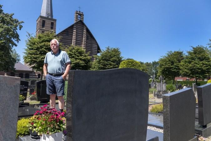Beheerder Piet en het kerkbestuur zijn vernielingen en diefstallen op het kerkhof in Meijel zat: 'Ze moeten de graven met rust laten'