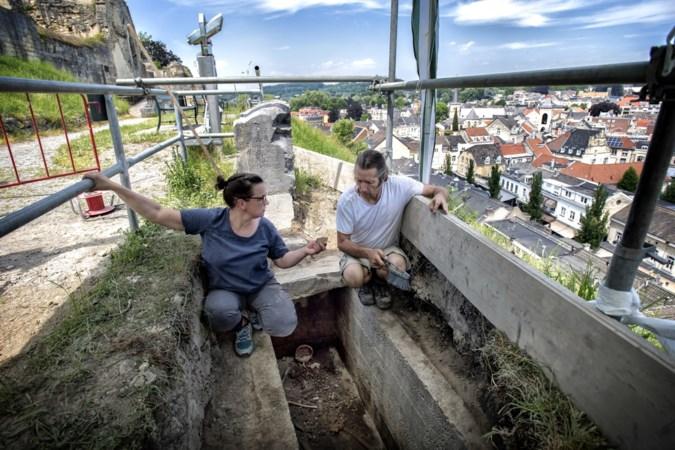 Lijk van de ruïne Valkenburg werd vier eeuwen geleden christelijk begraven