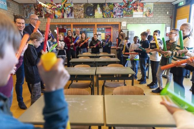 Weer wekelijks muziekles voor 7500 basisschoolkinderen in Kerkrade, Landgraaf en Brunssum