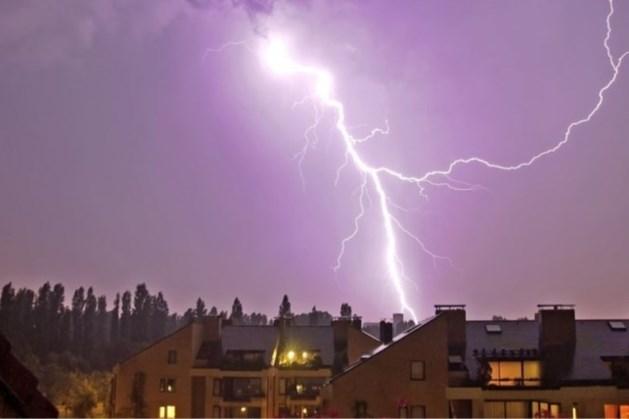 Waarschuwing voor onweer, bliksem, hagel en veel neerslag in Limburg